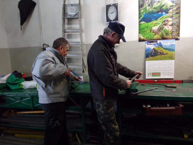 Przeglądasz zdjęcia z artykółu: Reintegracja zawodowa - grupa zawodowa Ślusarz